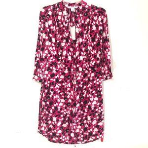 DVF Diane Von Furstenberg Freya Anima flower dress